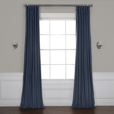 Exclusive Fabrics & Furnishing French Linen Curtain Panel