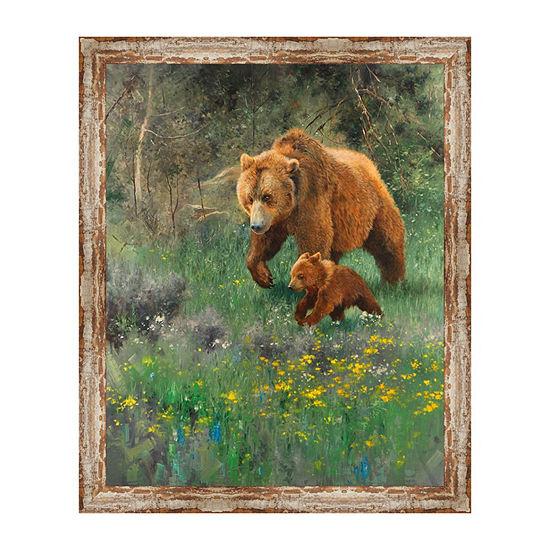 The Adventurer Framed Canvas Art