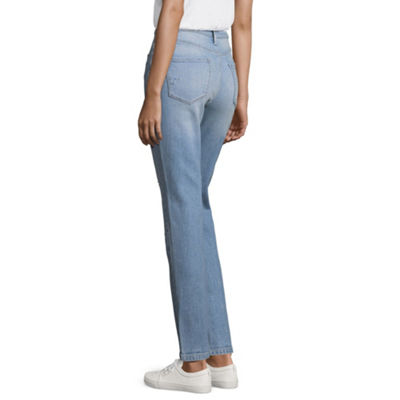 Brooklyn & Bailey - Top Pick - Arizona High-Rise Straight Leg Jeans - Juniors