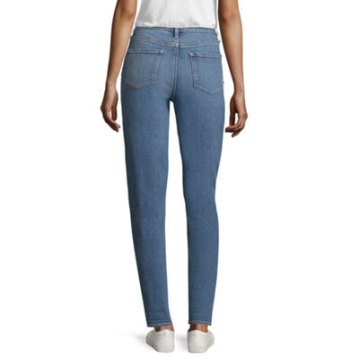 Arizona High-Rise Mom Jeans-Juniors
