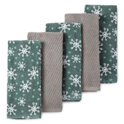 North Pole Trading Co. 5-pc. Kitchen Towel