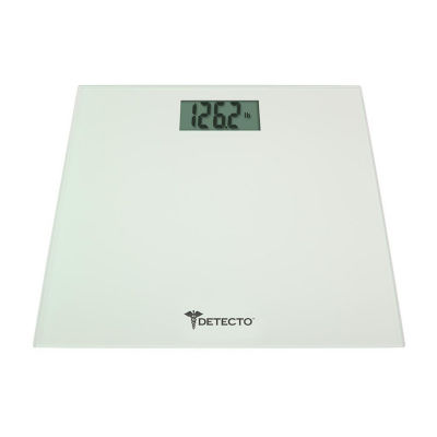 Detecto Glass LCD Bathroom Scale