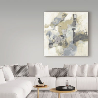 Trademark Fine Art Cj Anderson Skyline I ArchromaGiclee Canvas Art