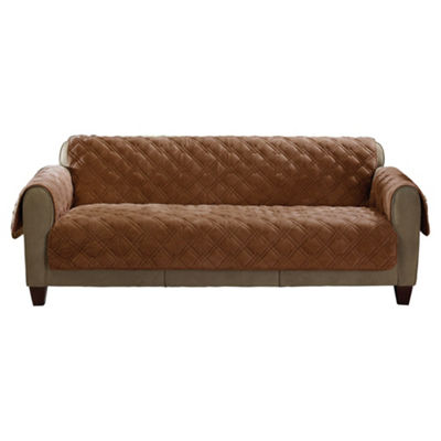 Sure Fit Plush Comfort Sofa Slipcover