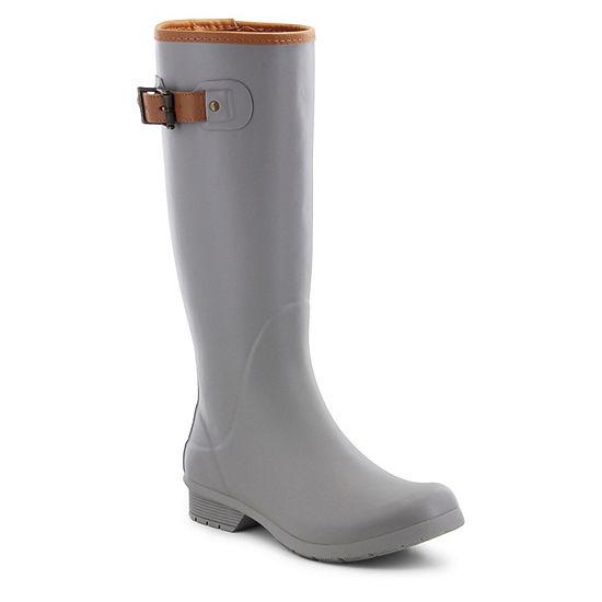 Chooka Fashion Womens City Solid Rain Boots Waterproof