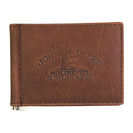 John Deere Mens Front Pocket Wallet