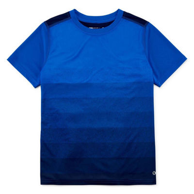 Xersion Short Sleeve Crew Neck T-Shirt Boys Husky