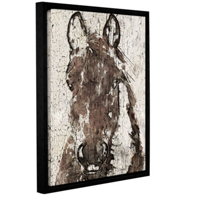 Shadow Queen II Floater-Framed Gallery Wrapped Canvas