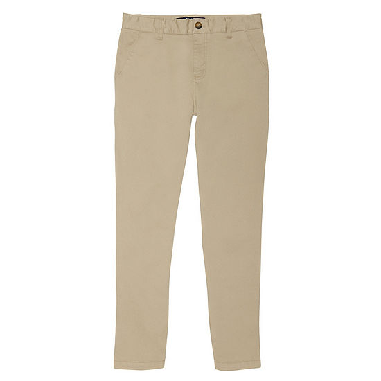 French Toast Straight Fit Uniform Chino Pant-Boys 4-20 Regular & Husky