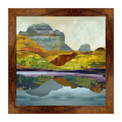 Eagle Peak Framed Print