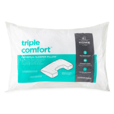 JCPenney Home Triple Comfort Medium Pillow