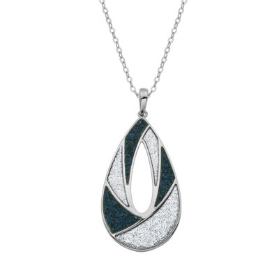 Womens Sterling Silver Pendant