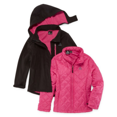 Reebok Heavyweight 3-In-1 System Jacket-Girls 4-16 & Plus