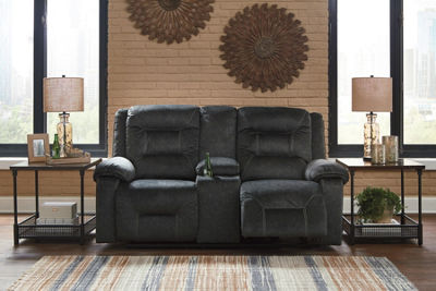 Signature Design By Ashley® Waldheim Power Reclining Loveseat