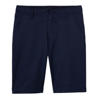 French Toast Flat Front Performance Stretch Uniform Chino Shorts- Boys 4-20