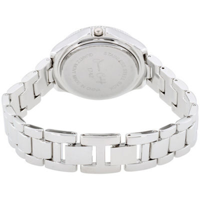 Womens Silver Tone Bracelet Watch-St1742s695-004