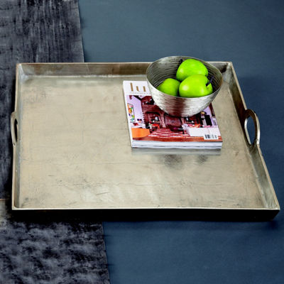 Two's Company Hotel De Ville Square Tray -