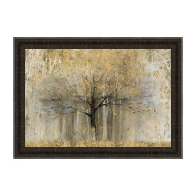 Open Arms Gold Framed Print