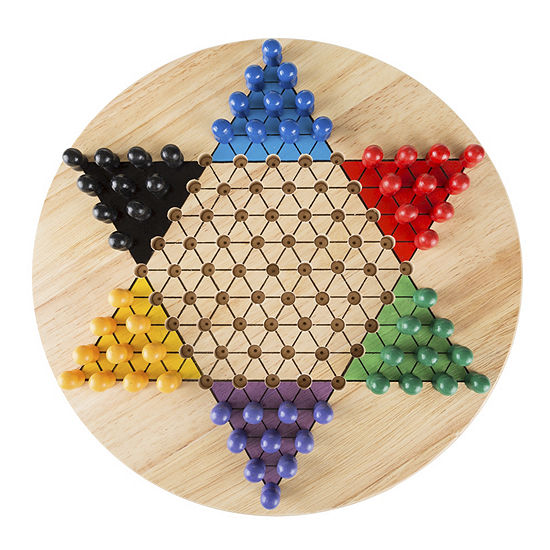 Hey Play Chinese Checkers Game Set