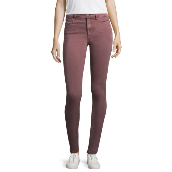 Arizona High-Rise Skinny Fit Jeggings-Juniors