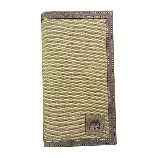 Berne Mens Checkbook Wallet