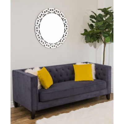 Intertwined Round Wall Mirror