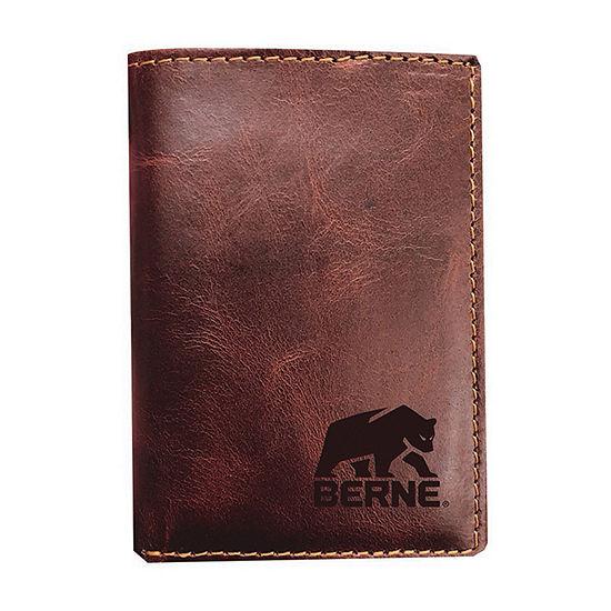 Berne Mens Tri Fold Wallet