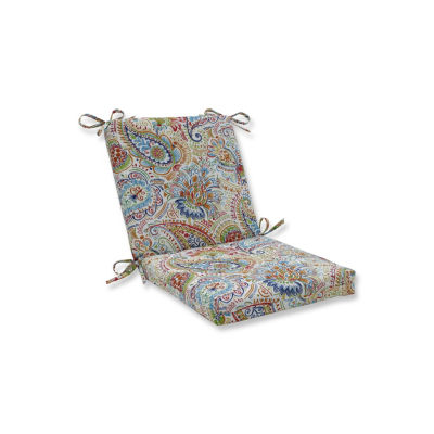 Pillow Perfect Gilford Festival Squared Corners Patio Chair Cushion