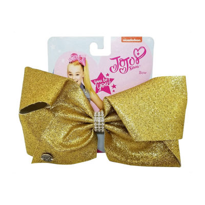 JoJo Siwa Signature Glitter With Rhinestone Keeper Bow