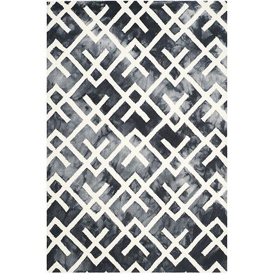 Safavieh Dip Dye Collection Earleen Geometric Area Rug