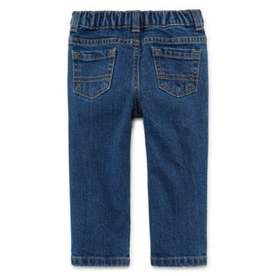 Okie Dokie Denim Pull-On Pant - Baby Boy 3M-24M
