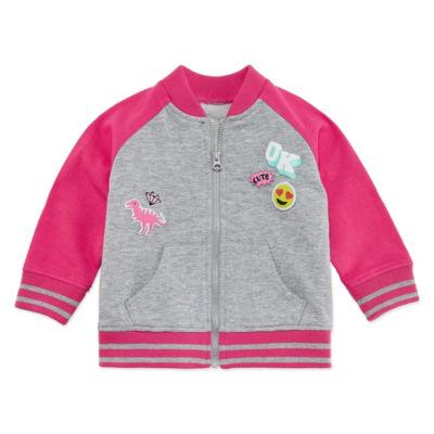Okie Dokie Bomber Jacket - Baby Girl NB-24M