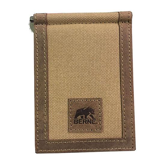 Berne Mens Front Pocket Wallet