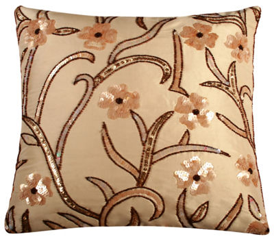 Rizzy Home Nicholas Transitional Floral Decorative Pillow