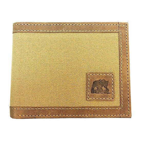 Berne® Canvas Flip Fold Wallet