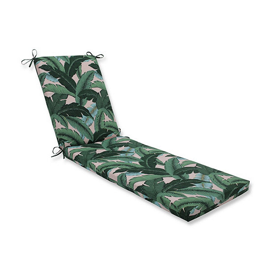 Pillow Perfect Swaying Palms Capri Oversized Patio Chaise Lounge Cushion
