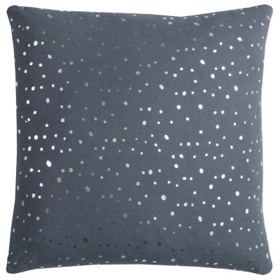 Rachel Kate By Rizzy Home Matthew Transitional Dots Decorative Pillow
