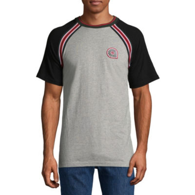 Akademiks Mens Round Neck Short Sleeve T-Shirt