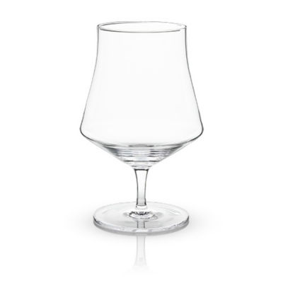 Raye: Crystal Beer Goblet Glasses (Viski)