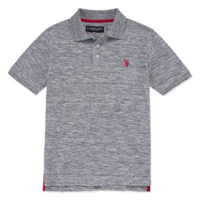 U.S. Polo Assn. Short Sleeve Woven Polo Shirt - Big Kid Boys