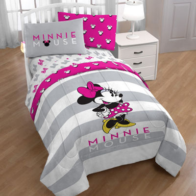 Disney Minnie Mouse Twin Reversible Comforter