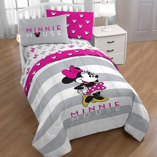 Disney Minnie Mouse Comforter Set & Accessories