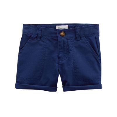 Carter's Twill Shorts - Preschool Girls