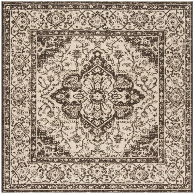 Safavieh Linden Collection Alton Oriental Square Area Rug
