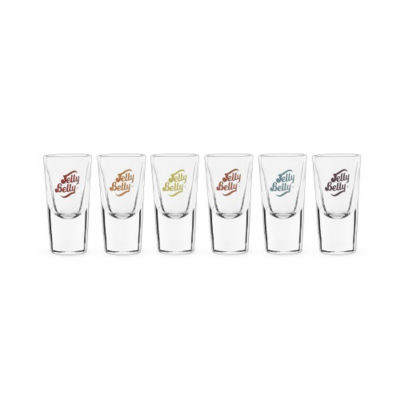 Jelly Belly Shot Glasses, Set Of 6
