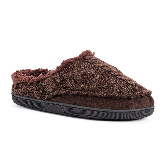 MUK LUKS® Cable Clog Slippers