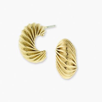 1928 Vintage Inspirations Brass Hoop Earrings
