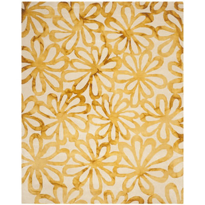 Safavieh Dip Dye Collection Chloe Floral Area Rug