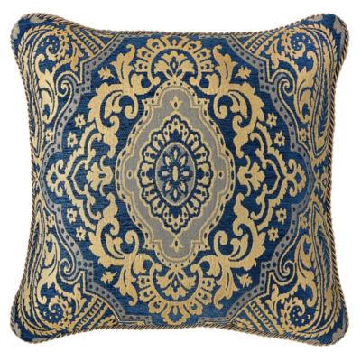 Croscill Classics Allyce 18x18 Square Throw Pillow