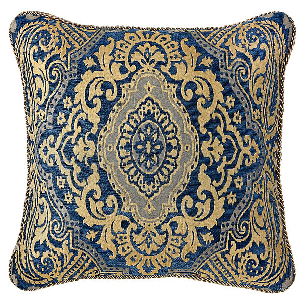 Croscill Classics Allyce 18x18 Square Throw Pillow